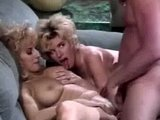 Threesome with eighties porn stars
