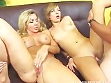 Dave Hardman gets satisfied by Nicole Ray and Lisa Demarco